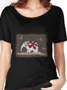"Elephant design ""Explorer"" Women's Relaxed Fit T-Shirt"