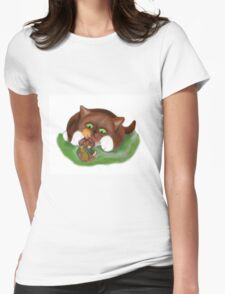 Fairy Makes  a Slow Get-a-way on a Snail T-Shirt