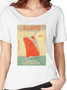 Atlantic Saftey Matches  Women's Relaxed Fit T-Shirt