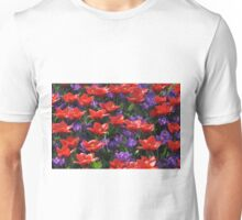 Red and purple Unisex T-Shirt