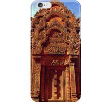 Banteay Srei~ The Citadel of Women iPhone Case/Skin