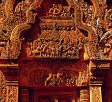 Banteay Srei~ The Citadel of Women Sticker