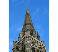 Spire of Chichester Cathedral Photographic Print