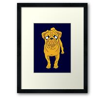 Jake the Real Dog Framed Print