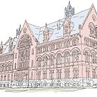 WIlliams Hall - My second home (color) by greenpalindrome