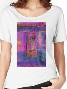 Lady in Blue Women's Relaxed Fit T-Shirt