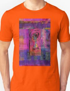 Lady in Blue Unisex T-Shirt