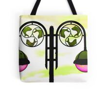 Colourized lamppost Tote Bag