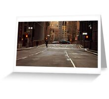 City Streets Greeting Card