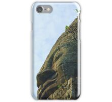 One of the 4 faces of a bayon tower iPhone Case/Skin