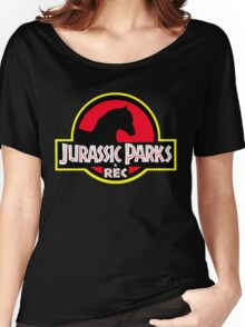 Jurassic Parks and Rec Clean Women's Relaxed Fit T-Shirt