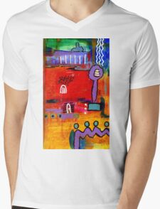 Four Souls Heading Home Mens V-Neck T-Shirt
