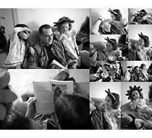 Story time with Dad Photographic Print