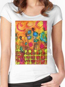 Women Women's Fitted Scoop T-Shirt