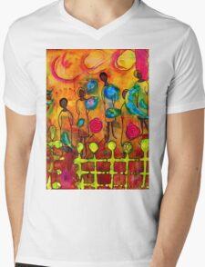Women Mens V-Neck T-Shirt
