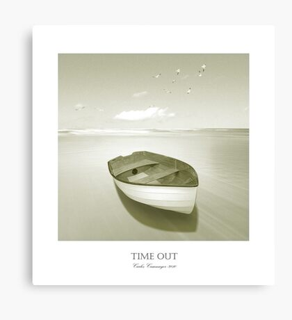 Time Out 10 Canvas Print