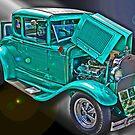 Model A Ford by Bob Hortman