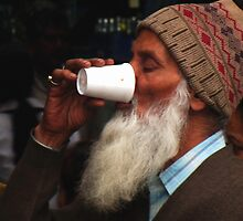 A soothing sip by Neeraj Nema