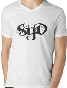 SYD  in black Mens V-Neck T-Shirt