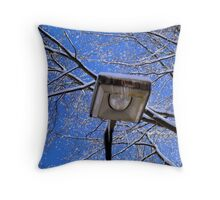 Lamppost in the Sky  ^ Throw Pillow