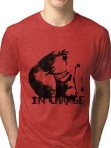 IN CHARGE Tri-blend T-Shirt