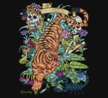 83-TIGER Tattoo Flash T-shirt by bear77