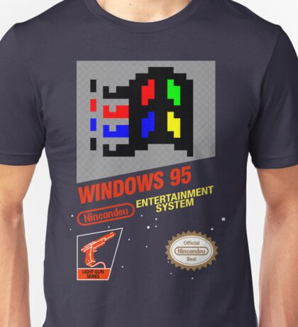NES Windows95 Unisex T-Shirt