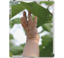 Reaching iPad Case/Skin