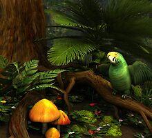 Rain Forest Floor 2 by Leoni Mullett