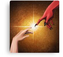 The Creation of Dragon Canvas Print