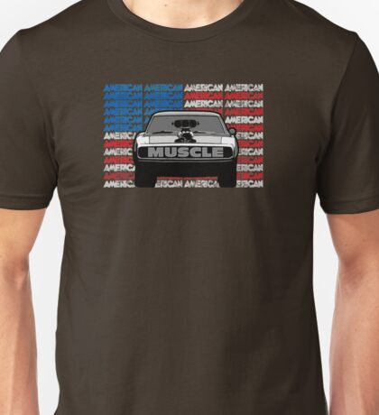 STREET RACING AMERICAN MUSCLE Unisex T-Shirt