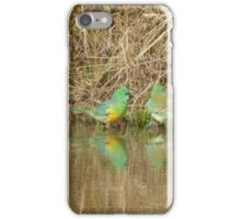 Green Parrots iPhone Case/Skin