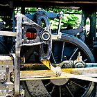 Great Western 90 Wheel Close by Susan Savad
