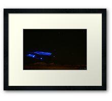 Alien Ghost Framed Print