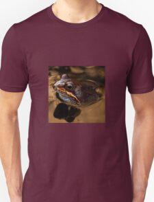 Kermit in bronze Unisex T-Shirt