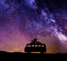 VW Night Sky  Sticker