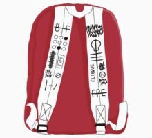 Tyler Joseph Backpack by rzinbow