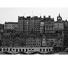 Layers Of Edinburgh Photographic Print
