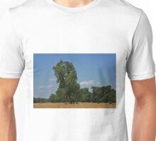 Colorful Kansas Summer pasture Unisex T-Shirt