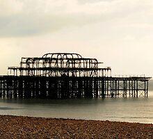 West Pier Brighton by cherryannette