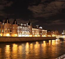 Conciergerie at night by Elena Skvortsova