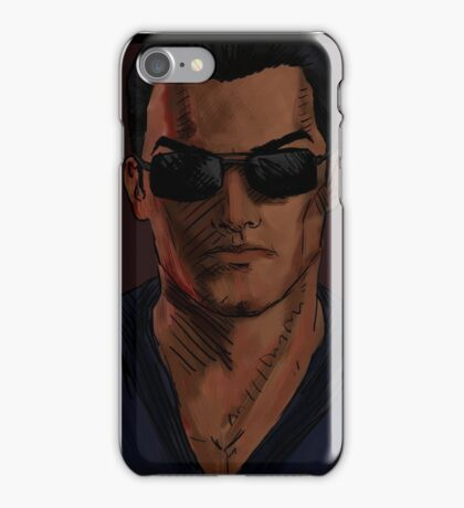 Retcon Johnny iPhone Case/Skin