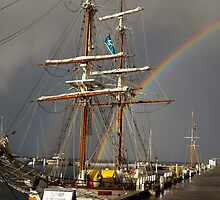 A Rainbow in the Rigging by Odille Esmonde-Morgan