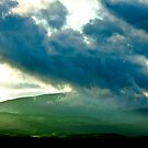 Green Hills and Stormy Skies by Buckwhite