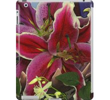 Spiked Bowl With Flowers iPad Case/Skin