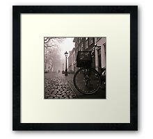 In The Mist Framed Print