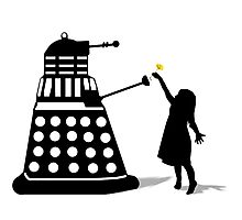 Dalek Stasis Theory Photographic Print