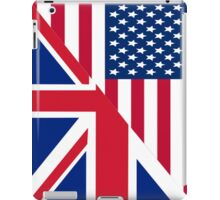 American and Union Jack Flag iPad Case/Skin