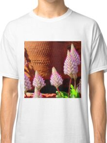 A Flurry Of Furry Flowers Classic T-Shirt