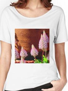 A Flurry Of Furry Flowers Women's Relaxed Fit T-Shirt